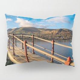 Padarn Lake Footbridge Pillow Sham