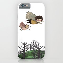 Someone to be super with iPhone Case