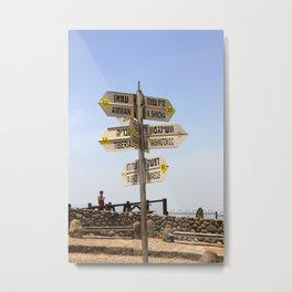 Find Your Direction Metal Print