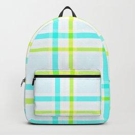Summery Plaid Backpack