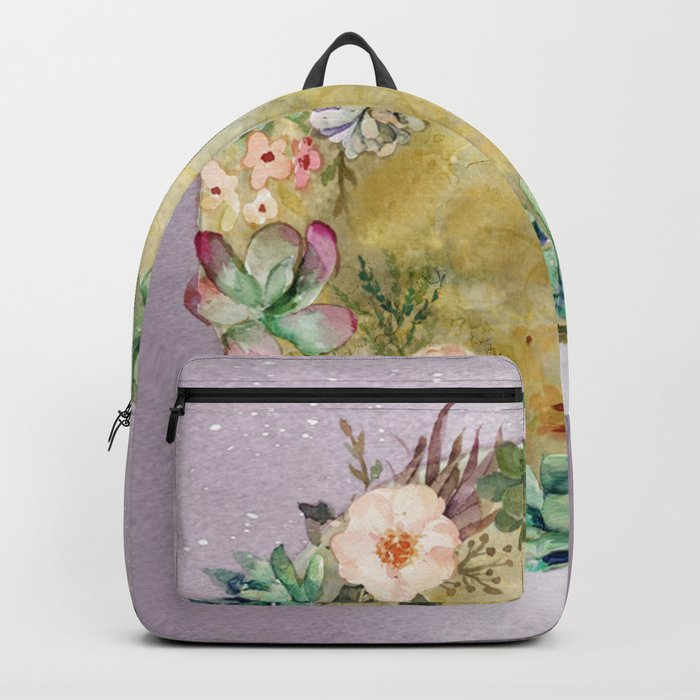 Succulent Full Moon Backpack