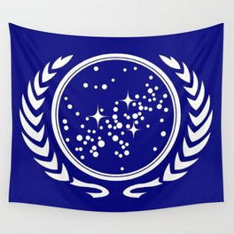 United Federation Flag Wall Tapestry