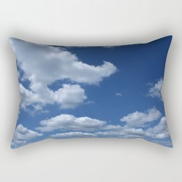 Spring Day in Indiana. Rectangular Pillow