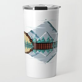 Bluegrass Banjo Player Or Musician Gift Travel Mug