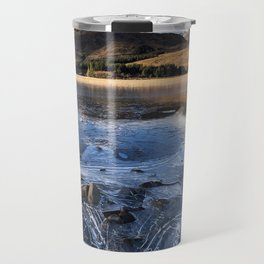 Loch on the rocks. Travel Mug