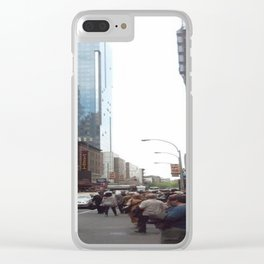 Broadway Clear iPhone Case