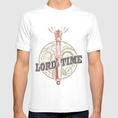 Steampunk Sonic Screwdriver Mens Fitted Tee White SMALL