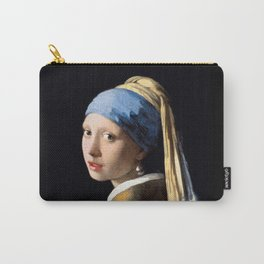 Girl with a Pearl Earring - Jonah Vermeer Carry-All Pouch