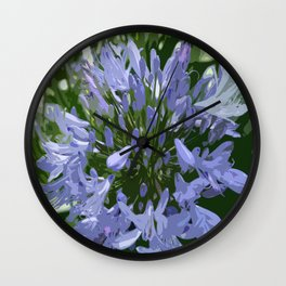 African Lily Wall Clock