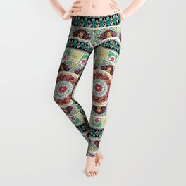Sloth Yoga Medallion Leggings