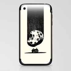 Trouble At Home iPhone & iPod Skin