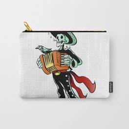 Skeleton mariachi musician. Carry-All Pouch