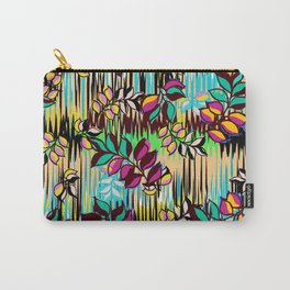 High Definition Leaves Carry-All Pouch