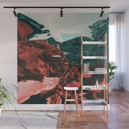 Color of the day is red Wall Mural