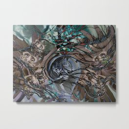 Shiva flight Metal Print