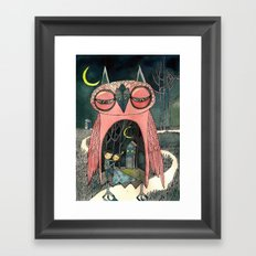 mere your pathetique light Framed Art Print