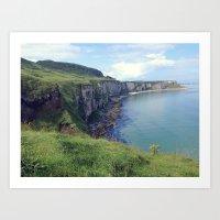 irish Art Prints featuring Irish Coast  by Tru Images Photo Art