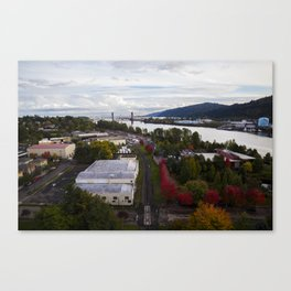 Fall for Portland Canvas Print