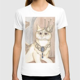 Jack Cat Angel Art T-shirt