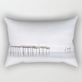 Frisco Pier (color) Rectangular Pillow