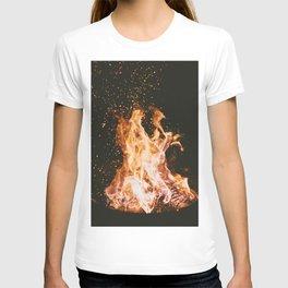 Winter Campfire T-shirt