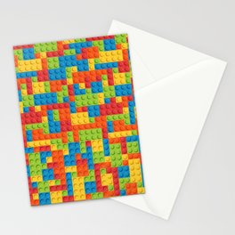 Legos Patter Stationery Cards