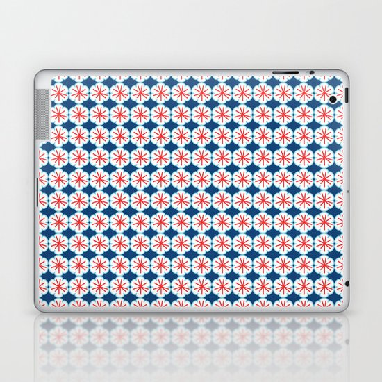 Beach Floral Laptop & iPad Skin