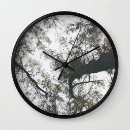 Above Wall Clock