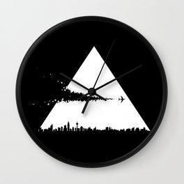 Crossover Wall Clock