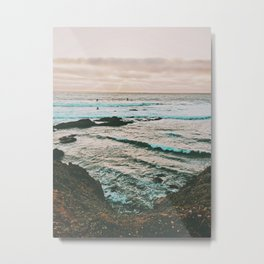 Pacific Coast Highway Metal Print