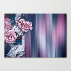 ROSES ABSTRACT Canvas Print