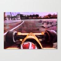 formula 1 Canvas Prints featuring Formula 1 by Jean-François Dupuis