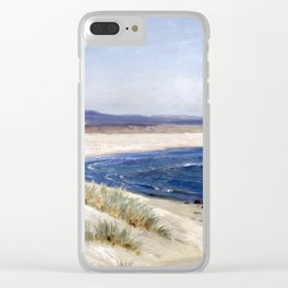 Amaldus Nielsen People on a Beach Clear iPhone Case