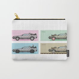 Back to the Future - Delorean x 4 Carry-All Pouch