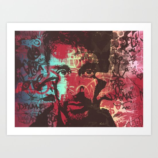 AL PACINO URBAN ART Art Print