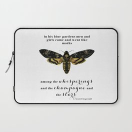 Among the whisperings and the champagne and the stars Laptop Sleeve