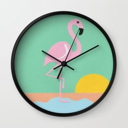 Flamingo Herbert Wall Clock
