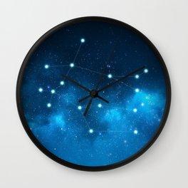 Gemini: Astrological Art Wall Clock
