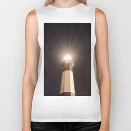 Tybee Lighthouse Under the Stars Biker Tank
