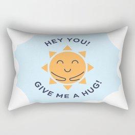 Summer, How Cute Are You! Rectangular Pillow