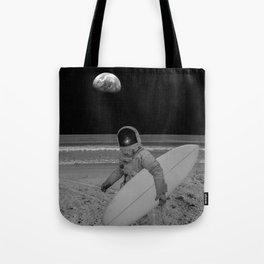 Moon surfer Umhängetasche