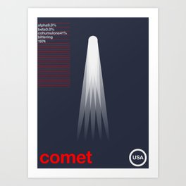 comet single hop Art Print