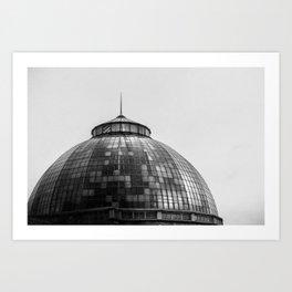 Bele Isle Conservatory Dome Art Print