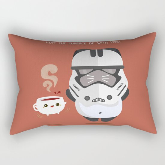 THE FURRCE IS STRONG Rectangular Pillow