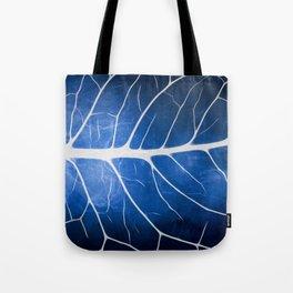 Glowing Grunge Veins Tote Bag
