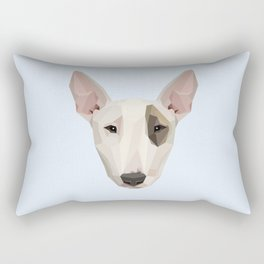 Bull Terrier Rectangular Pillow