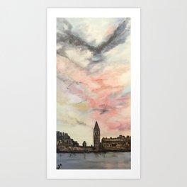 Wistful London Art Print
