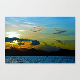 The Other Side of Hong Kong Canvas Print