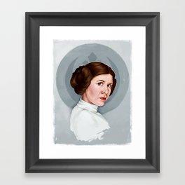 Princess Leia Framed Art Print