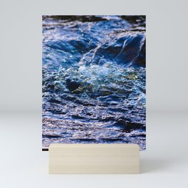 Bubbly   Musical Crime Productions  River Photography Mini Art Print
